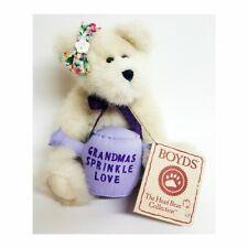 Boyds Bear Nana Style #82523 Grandmas Sprinkle Love, Nwt