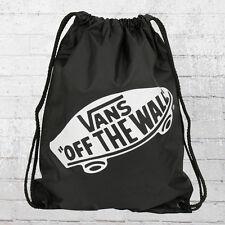 Vans Turnbeutel Rucksack Beutel Benched Gym Bag Basic Tasche schwarz uni