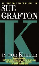 Kinsey Millhone Alphabet: K Is for Killer by Sue Grafton (1995, Paperback)