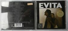 MADONNA AS EVITA MUSIC FROM THE MOTION PICTURE CD