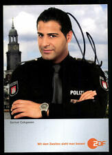 Serhat Cokgezen Notruf Hafenkante Autogrammkarte Original Signiert ## BC 34030