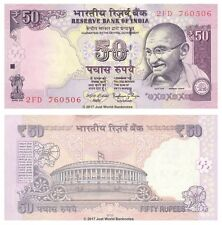 India 50 Rupees 2015  P-104d Banknotes  UNC