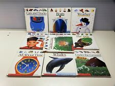 Lot of 10 Scholastic FIRST DISCOVERY Spiral Books Educational Homeschool Teacher