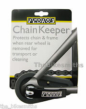 Pedro's Chain Keeper Bike Wheel Placeholder for Cleaning and Travel Pedros QR