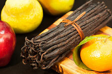 "10 Extract Grade B Vanilla Bean Madagascar Planifolia Bourbon 6-7"""