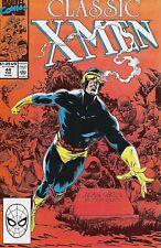 Classic X-Men No.44 / 1990 Reprints Uncanny X-Men No.138 Kieron Dwyer Back-up