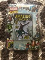 *In Hand SDCC 2019 Toynk Marvel Comics Amazing Fantasy #15 Spider-Man Enamel Pin