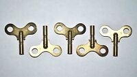 "5 - Replacement Windup Toy Keys - Brass - ""For Windup Toys"" Fits Large Marx Toys"