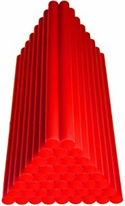 Hotmelt for remove Dents RED 900 grams 45 Sticks 200 x 11 mm All Weather soft