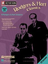 Rodgers & Hart Classics Jazz Play Along Book and Cd New 000843014