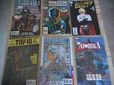 ATOMIKA - TOP 10 - ROBOCOP - JUSTICE - LOT 14 ENGLISH BOOKS  AMERICA BEST COMICS