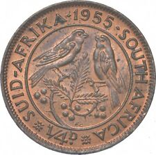 Better - 1955 South Africa 1/4 Penny - TC *240