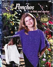 Ponchos to Knit & Crochet #1306 American School of Needlework Pattern Book