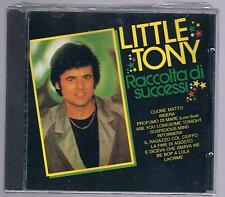 LITTLE TONY RACCOLTA DI SUCCESSI CD  F.C. TIMBRO A SECCO SIGILLATO!!!