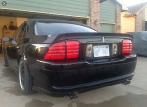 2000-2006 Lincoln Ls 3pc Wing West Spoiler