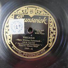 78 tr/min Nick Lucas précieux/I 'd Love To Vous appeler ma chérie