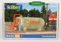 BNIB OO HO GAUGE KIBRI 39430 DEPOT DIESEL TANK WITH FUEL PUMP  - KIT
