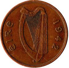 1942 ONE PENNY EIRE / IRELAND      #WT808