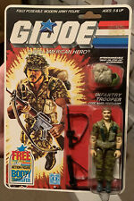 GI Joe ARAH Infantry Trooper Footloose MOC/MOSC 1985 Cobra 36 Back