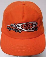 Vtg 1980s BULKMATIC TRUCKING TRANSPORTATION SEMI TRUCK Advertising SNAPBACK HAT