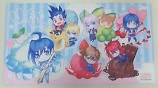 Cardfight!! Vanguard MogMog Series Rubber Mat & Cloth Case Mini Van