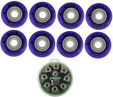 Tron Mega Hz Indoor Inline Hockey Wheels 80mm/74A 8-Pack With ABEC 9 Bearings
