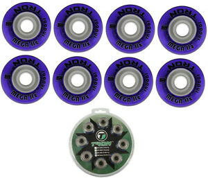 Tron Mega Hz Indoor Inline Hockey Wheels 72mm/74A 8-Pack With ABEC 9 Bearings
