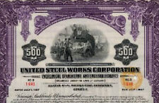 Vereinigte Stahlwerke AG Düsseldorf Gold Anleihe 1927 Thyssen germany USA bond