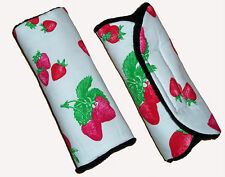 Baby Sweet Strawberry Seggiolino Auto Carrozzina Trolley Seggiolone Cablaggio Copertura Cintura PADS BN