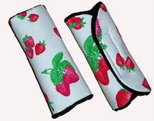 Baby Sweet Strawberry Car Seat Pram Trolley Highchair Harness Cover Belt Pads BN