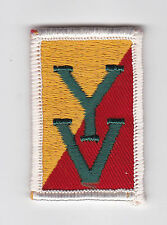 SCOUTS OF CANADA -  CANADIAN SCOUT QUEBEC YAMASKA VALLEY DISTRICT Patch