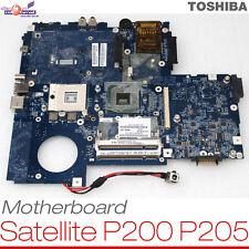 Scheda Madre Toshiba Satellite p200 p205 k000051470 Socket 479 scheda madre top #052