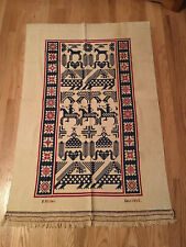 1942 Early American Tapestry Cross-Stitch Red, White and Blue