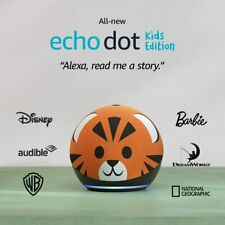 Amazon Echo Dot 4th Gen Kids Edition, Smart speaker with Alexa, US Seller