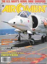 Air Combat July 1982 Spanish Navy F-100 Super Sabre Grumman Greyhound Cessna A/T