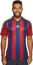 adidas Mens Soccer Striped Jersey