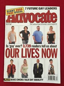 FUTURE GAY LEADERS, DIXIE CHICKS, The Advocate Gay & Lesbian Magazine, June 2006