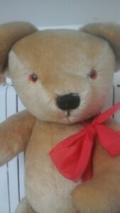 HUGO Huge Merrythought Teddy Bear Made For Harrods - Perfect Condition!