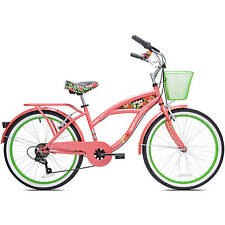 bikes for girls 24 inch bicycles Multi Speed Cruiser 7 speed beach unique gift