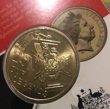 Rare 25 Cent Australia Coin-Collectable Golden ColorUNC Coin Ex Australian Mint