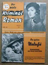 Der neue Krimial Roman  (Ö), Heft 13:  Der grüne Malachit   (Z 1)