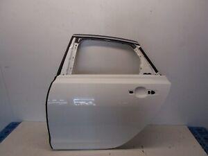 16-19 JAGUAR XF REAR LEFT DRIVER SIDE DOOR SHELL WHITE OEM