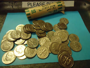 2000-D ROLL OF ROOSEVELT DIMES     >> C/S & H <<