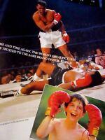"2009 Muhammad Ali Kodak Original Print Ad-8.5 x 11""Sonny Liston"