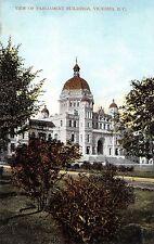 View of Parliament Buildings Victoria B C BC 015