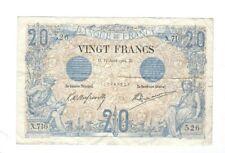 France - 20 Francs, 1904