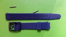 BRACELET MONTRE  /// watch bands / PVC /12MM //  MARINE / JR53