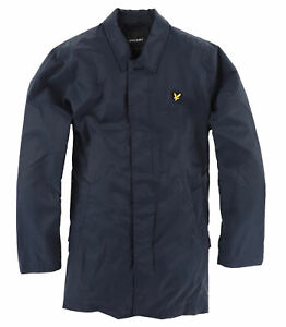 Lyle & Scott Herren Mantel Jacke Coat Jacket Gr.L elegant Navy Blau 115668