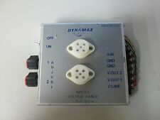 Used Dynamax AVRDC Voltage Regulator Dual Output with Control Line