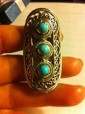 Arizona Sleeping Beauty Turquoise Ring, Sz 8, 1.26 Cts / Sterling Silver
